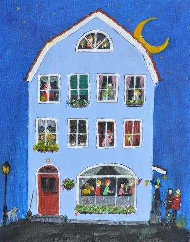 Blå huset